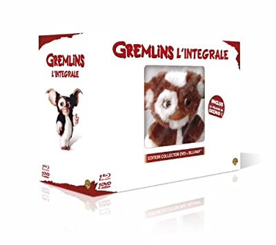 Gremlins 1+2 Collector Edition Box inkl. Plüschtier Gizmo [Blu-ray auf Deutsch] [EU-Import]