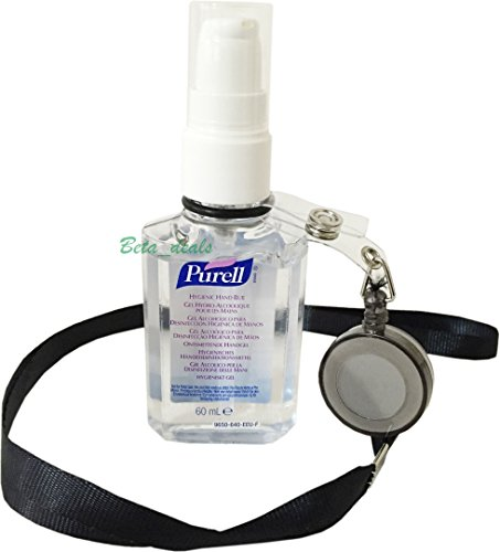 purell-60ml-hand-sanitizer-bottle-free-yoyo-lanyard-retractable-reel-belt-clip-purell-black-lanyard