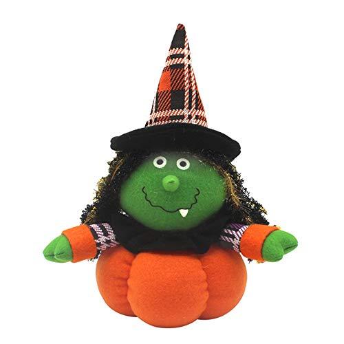 Bolange Halloween Dekoration Puppe Puppe niedliche Tuch Hexe -
