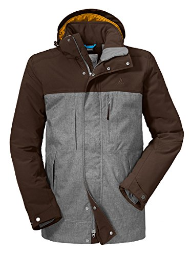 Schöffel Herren Insulated Jacket Lipezk Jacke, Rugged Brown, 52 Jacke Herren Insulated Jacken