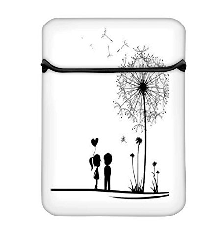 Snoogg Dandelions Child Love 12 inch Laptop Case Flip Sleeve Bag Computer Cover