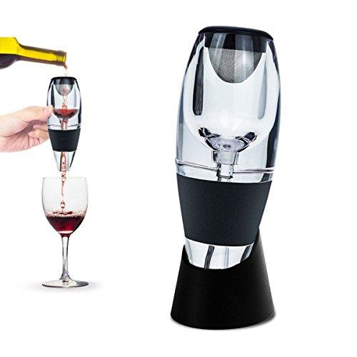 JT JUSTIMEAérateur de Vin Magic Decanter, Décanter le Vin avec élégance Simplicité Idée Cadeau pour La Maison, Un Bar ou Les Diners ,Meilleurs Cadeaux de Noël et de Vacances pour Les Femmes et Les Hommes!