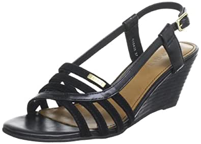 ESPRIT Women's Rosia Sling Court Shoes Black Schwarz (black 001) Size: 5.5