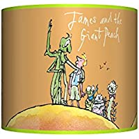 """JAMES AND THE GIANT PEACH CEILING LAMPSHADE ~ 10"""" DRUM ~ BOYS / GIRLS LAMP SHADE"""