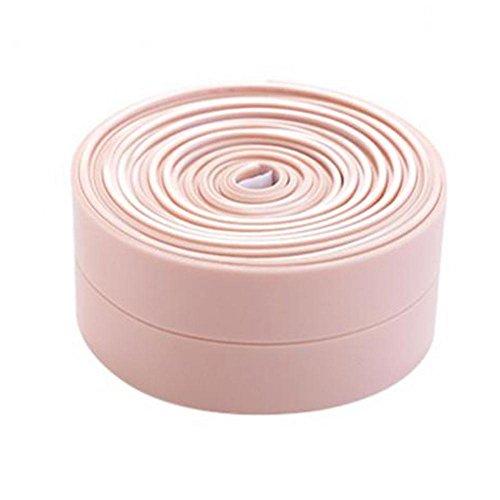 Wanddichtungsband schimmelfest wasserdicht selbstklebend Küche Badezimmer Nahtaufkleber rose