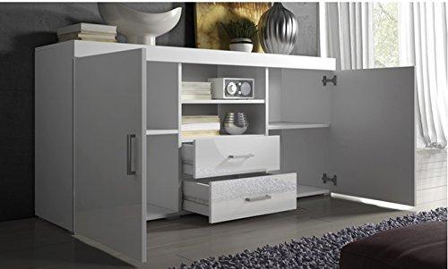 La Credenza Muebles : Muebles bonitos credenza modello roque colore bianco casame