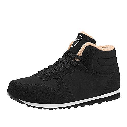 YXZNB Winter Ältere Schuhe, rutschfest Sportschuhe Herren- Und Damenschuhe Wohnung Mit Warm Hoch Zu Hilfe Plus Velvet Cotton Schuhe,A,41