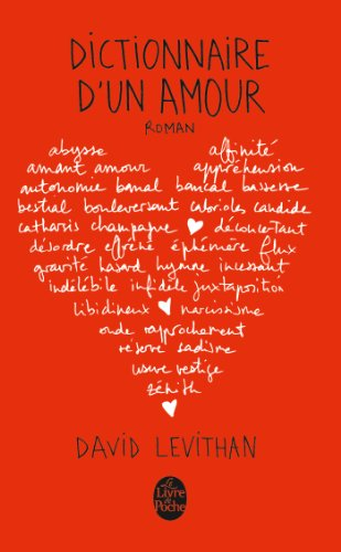 Dictionnaire d'un amour by David Levithan manuel universitaire