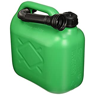 All Ride Fuel Jerry Can 5 Litre Green (Unleaded)