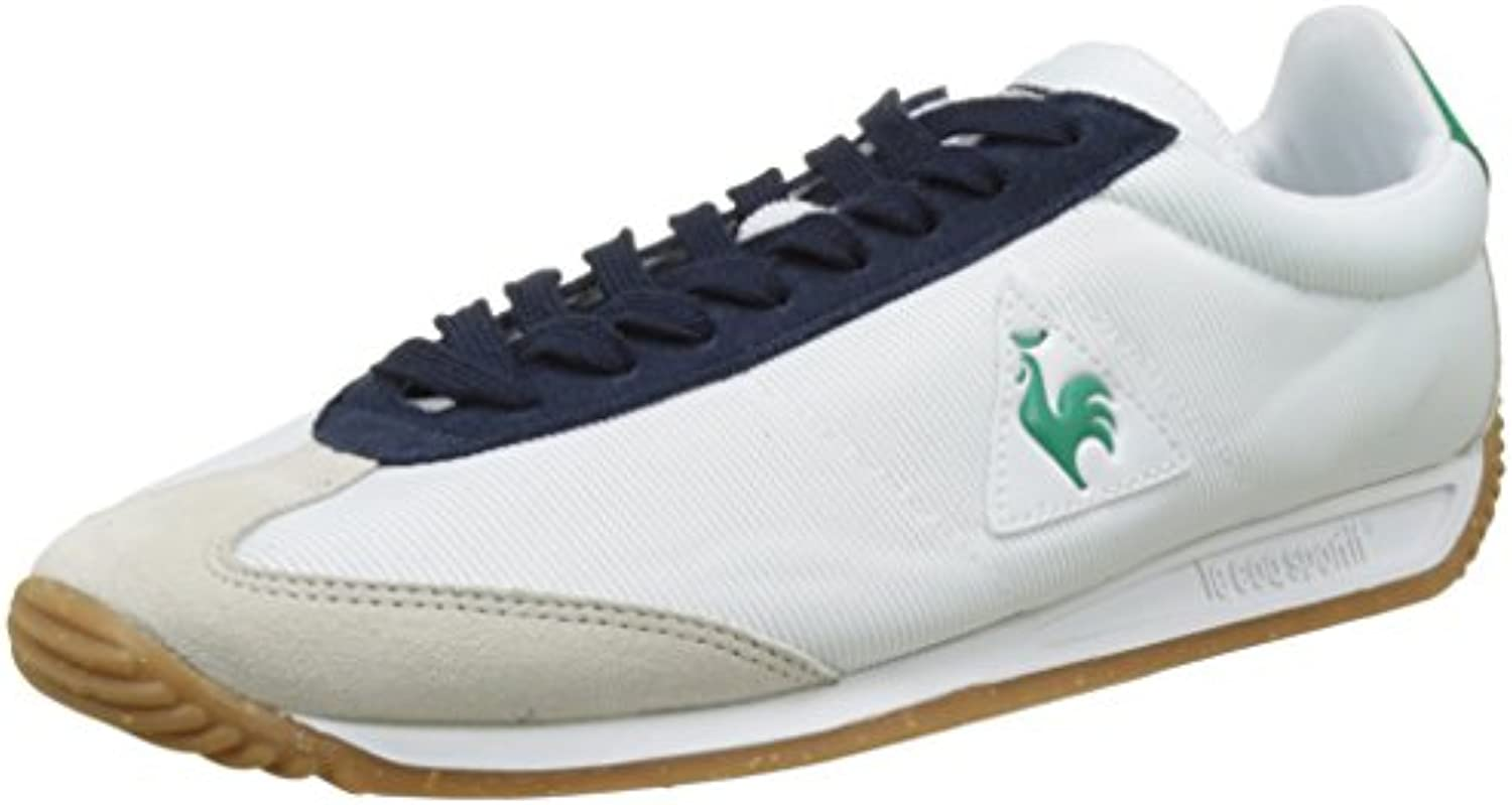 Le Coq Sportif Unisex Erwachsene Quartz Speckel Gum Sneakers  Optical White/Dress Blue