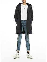 Scotch & Soda Women's Velvet-Lined Puffer Coat Jacket