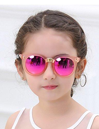 Kinder-Sonnenbrille Boy Mädchen Sonnenbrille Tide Baby Anti-UV polarisierte Gläser ( Farbe : 1 )