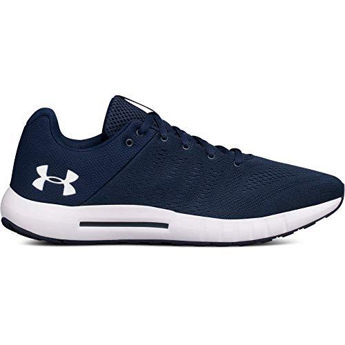 Under Armour Herren Micro G Pursuit Sneaker, Blau (Academy/Black/White Blau), 43 EU -
