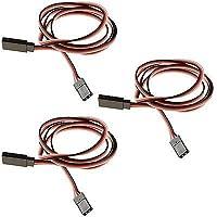Price comparsion for 3 x RC 900mm Servo Extension Wire Cable Lead Futaba / JR / Hitec / Sanwa