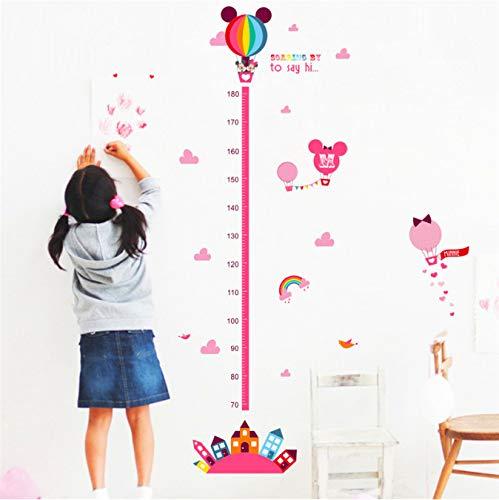 Cartoon film minnie maus wachstum chart wandtattoos wohnzimmer wohnkultur pvc höhe messen wandaufkleber kinder geschenk diy wandbild