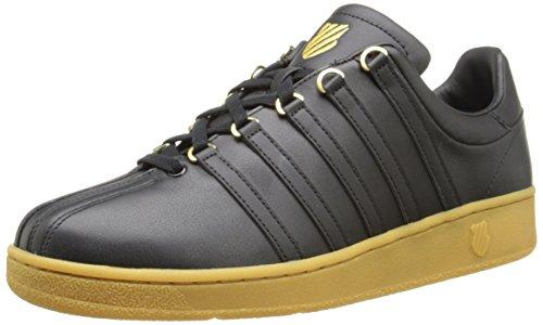 K-swiss Classic Vn, Herren Sneakers Schwarz (nero / Gomma)