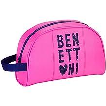 Safta Benetton  Neceser, Color Rosa