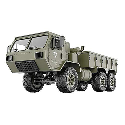 it Fernbedienung Full Scale Truck Fy004A 1/16 2,4G 6Wd RC Auto 720 P WiFi FPV Hd Kamera Fahrzeug Crawler Offroad - Grün ()