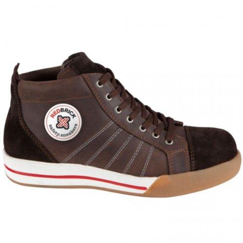 Redbrick Sneaker Smaragd Sicherheitsschuhe S3 47 Brown