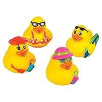Rhode Island Novelty 2 Beach Rubber Duck (12 Piece) by Rhode Island Novelty