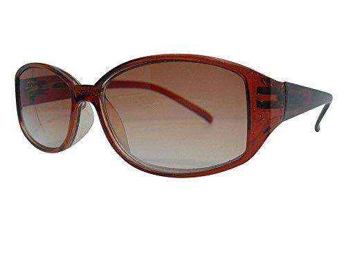 Laylas Sun ReadersTinted - Occhiali da lettura in 3 colori con cerniere a molla, protezione UV400 al 100%