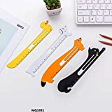 #9: MQ Imported Metal Bookmarks with Measurement Scale 1831 - Pack of 4