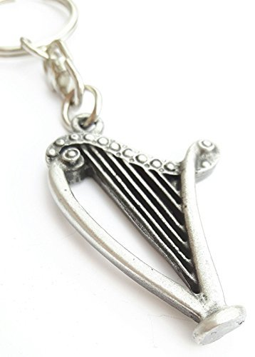 harp-handcrafted-from-english-pewter-key-ring-59mm-button-badge-gift-bag
