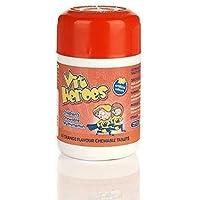 Vit Heroes - Bambini Masticabile Multivitaminico Compressa Arancione Aroma - 60 Compresse x 6