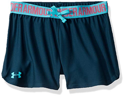 Under Armour Mädchen Play Up Short Kurze Hose, Grün, YXL