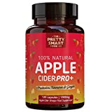 Powerful Apple Cider Vinegar Capsules - Boosted with Probiotics for Optimal Gut Health - 1300MG Dosage - Apple Cider Vinegar Tablets - Natural Keto Diet Pills for Weight Loss - 120 Capsules - UK Made