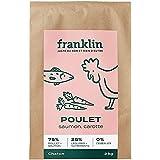 Franklin - Croquettes sans Céréales – Chaton - Naturel – Défenses Immunitaires – Croissance – Poulet, Saumon, Patate Douce, C