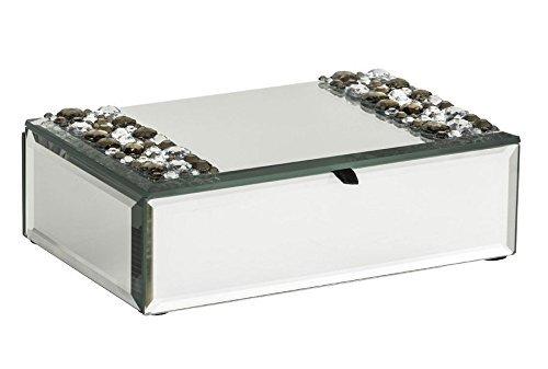 Generic o-1-o-4747-o Organi Halskette Armband Bracel Detail Ring NG Hals Schmuck Aufbewahrungsbox EL Deta Organizer-Einheit BOX mir Spiegel Jewel NV _ 1001004747-nhuk17_ 1652 (Box Einheit)