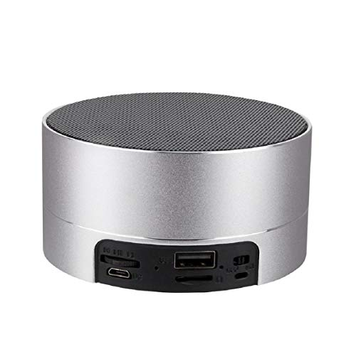 Lautsprecher, Super Tragbarer Lautsprecher Mit 15 Stunden Spielzeit, 20 Meter Bluetooth-Reichweite, VerstäRktem Bass, Sd-Karte Usb-Lautsprecher FüR Samsung, Laptops Und Mehr ()