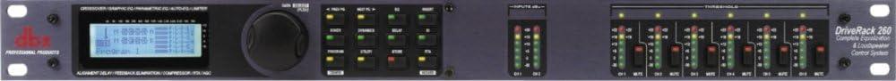 DBX DriveRack 260 Live Sound Didgital Processors