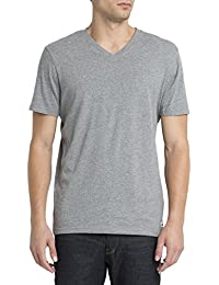 ELEMENT - T-shirt - Homme - Tshirt Basic Col V Gris pour homme