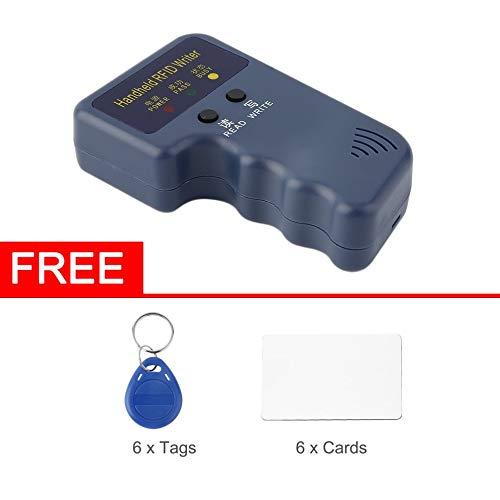 (Hand-ID-Karten-Kopierer RFID 125KHz, Tragbare Blockierungs-Id-Verfasser-Duplizierer Durable 6 beschreibbare Marken 6 beschreibbare Karten)