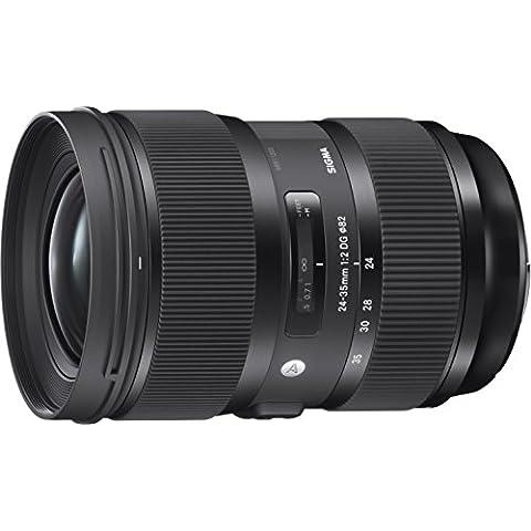 Sigma 24-35mm F2 DG HSM Art - Objetivo para cámara réflex Canon (diámetro filtro 82 mm), color negro