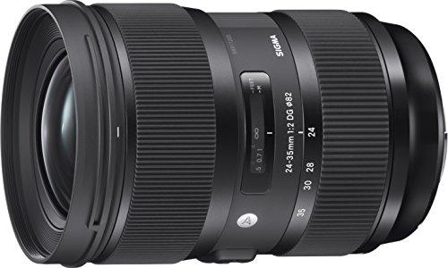 Sigma 24-35mm F2,0 DG HSM Art Objektiv (82mm Filtergewinde) für Nikon Objektivbajonett