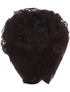 Zhhlaixing Elegant Women's Fashion Party Synthetic Wigs - Short Curly Wigs RM-ZF-2001-4#