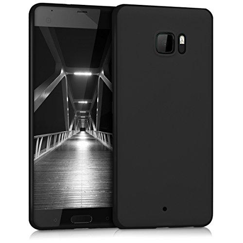 kwmobile HTC U Ultra Hülle - Handyhülle für HTC U Ultra - Handy Case in Schwarz matt
