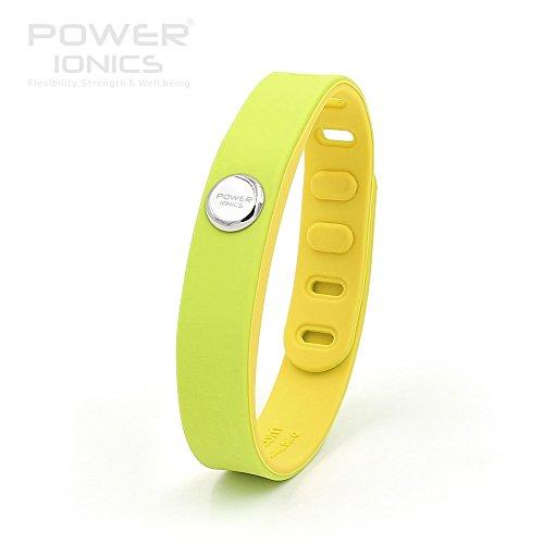 Power Ionics Bracelet Armband Powerarmband PowerIonics Ionenarmband Energie Wristband Magnet Armband 3000 Ions Smart Sports Bracelet Wristband PT066 (candy green) (Candy Magnet)