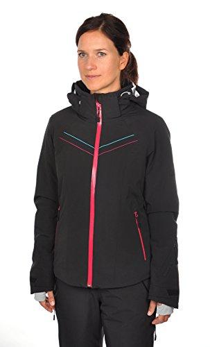 Völkl Performance Wear Damen Skijacke Silver Pure Jacket, Black, 36