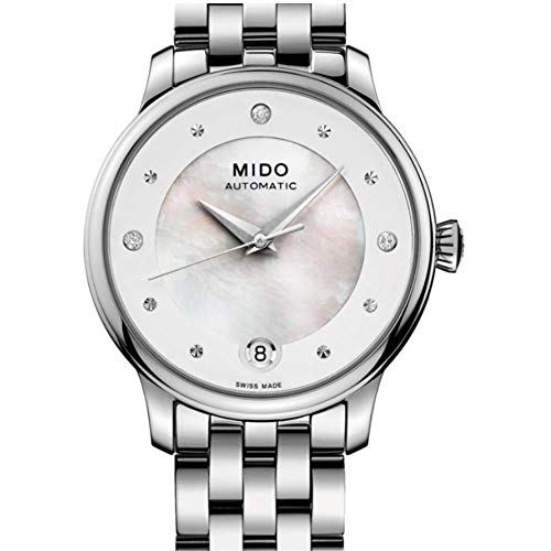 Mido Women's Baroncelli Diamond 27.9mm Automatic Watch M039.207.11.106.00