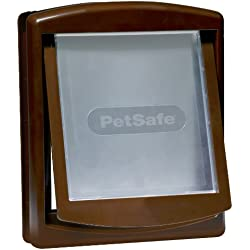 Croci C6066008 Petsafe Staywell Porta per Cani, Marrone, 5.7 x 29.4 x 35.2 cm