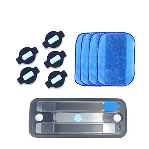 4 Teile/los Wasser Docht Kappe Kit * 1 Stücke Pro-Clean Reservoir Pad Für Irobot Braava 380 380 T 320 Mint 4200 4205 5200C