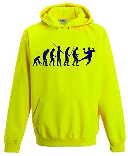 HANDBALL EVOLUTION ! Kinder NEON SWEATSHIRT gelb Kinder 12/13 Jahre