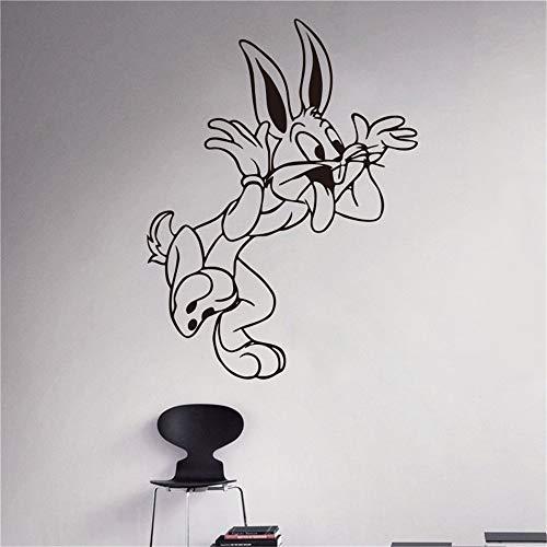 wandaufkleber 3d Wandtattoo Kinderzimmer Bugs Bunny Looney Tunes Cartoon Sticker Kinderzimmer Kinderzimmer