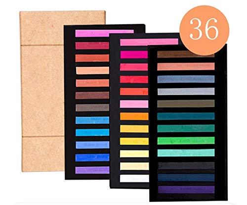 ZYH994 12/24/36/48 Farbe Hochwertige Master Crayon Haarfärbemittel Farbe KreideZeichnung Liefert Künstlerbedarf Aquarellfarbe, S-36