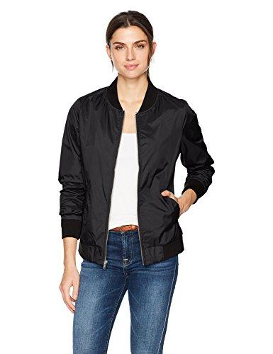 Charles River Apparel Damen Jacke Boston Flight Jacket - Schwarz - XX-Large (Jacket Flight Nylon)
