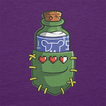 TEXLAB - Potion in a Pocket - Herren T-Shirt Violett